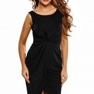 inasari-black-draped-midi-dress-s2ca032-1