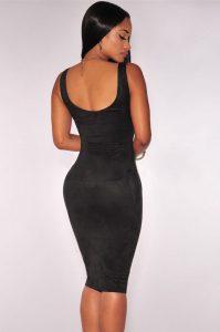 inasari-black-faux-suede-sleeveless-midi-dress-s2ca017-2-2
