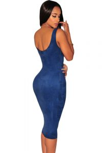 inasari-black-faux-suede-sleeveless-midi-dress-s2ca017-4-2