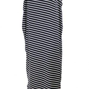 inasari-black-skew-neck-off-shoulder-striped-asymmetric-hem-dress-s2ca030-2-2