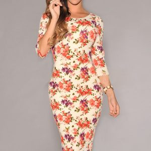inasari-cream-v-back-half-sleeves-floral-dress-s2ca031-1-2