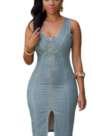 inasari-light-blue-denim-gold-zipper-front-midi-dress-s2ca019-4-1
