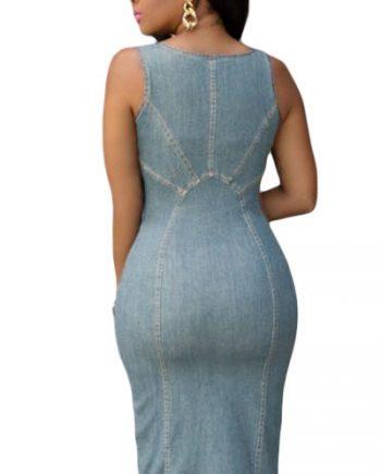 inasari-light-blue-denim-gold-zipper-front-midi-dress-s2ca019-4-2