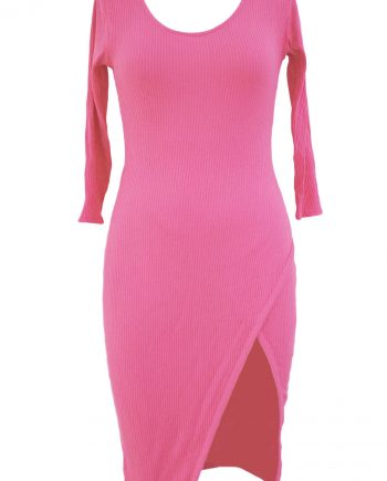 inasari-pullover-scoop-neck-34-sleeve-side-slit-midi-dress-s2ca028-10-2