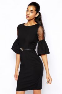 inasari Bell Sleeve Pencil Dress s2od025 -2