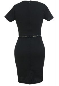 inasari Cap Sleeve Midi Dress s2od020-2 -4