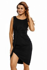 inasari-black-draped-midi-dress-s2ca032-2