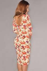inasari-cream-v-back-half-sleeves-floral-dress-s2ca031-1-3