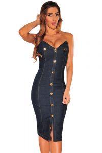 inasari-denim-button-strapless-dress-s2ca024-5-1