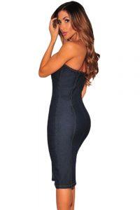inasari-denim-button-strapless-dress-s2ca024-5-2