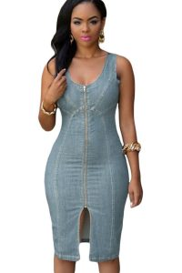 inasari-light-blue-denim-gold-zipper-front-midi-dress-s2ca019-4-1