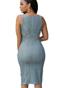 inasari-light-blue-denim-gold-zipper-front-midi-dress-s2ca019-4-2