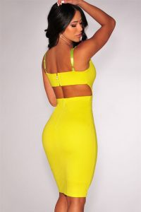 inasari-sexy-deep-v-neck-yellow-bodycon-dress-s2cl038-2-2